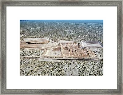Nuclear Missile Silo Test Site Framed Print by Us National Archives