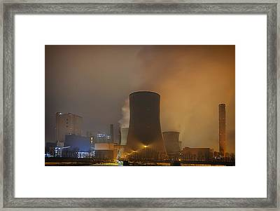 Nuclear Power Framed Print by Mountain Dreams