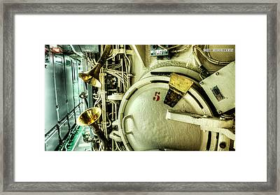 Nuclear Submarine Missile Chamber Framed Print by Weston Westmoreland