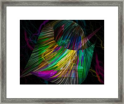 Nucleus Framed Print by Camille Lopez