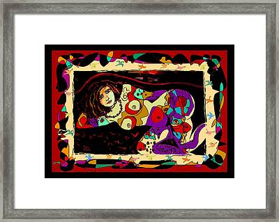 Nude 13 Framed Print by Natalie Holland
