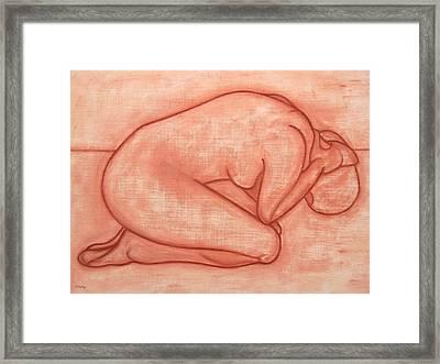 Nude 19 Framed Print by Patrick J Murphy