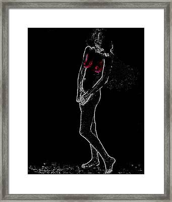 Nude 263 Man Ray Homage Framed Print by Brian King