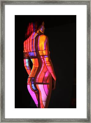 Nude- Abstract Projection # 3 Framed Print by Stephen Carver