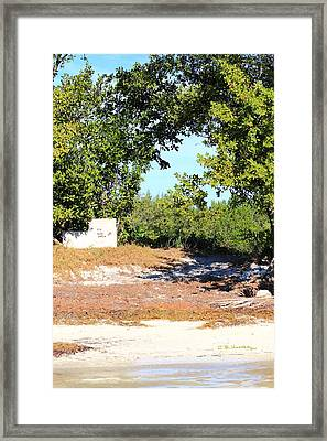 Framed Print featuring the photograph Nude Beach by R B Harper