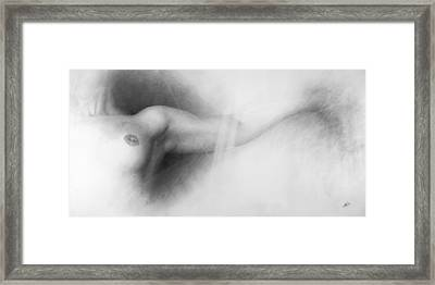 Nude Drawing Framed Print