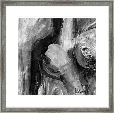 Nude E Framed Print