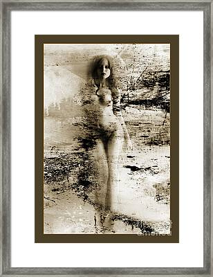 Nude From Alley 1156.01 Framed Print