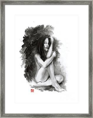 Nude Girl Framed Print