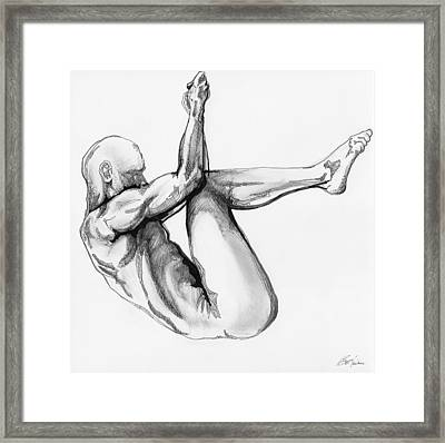 Nude Male 1 Framed Print