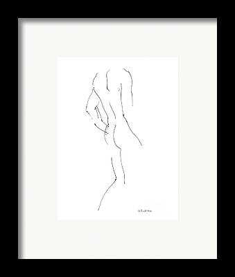 Fine Art Nude Framed Prints