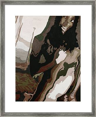 Nude4 Framed Print