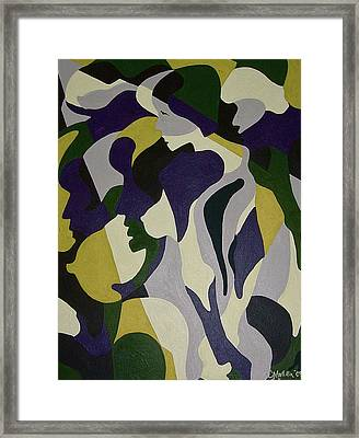 Nude9 Framed Print
