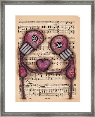 Nuestro Amor Eterno Framed Print