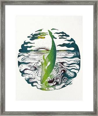 Nui Ka U'i      Immense Beauty Framed Print by Jaya C Dupuis