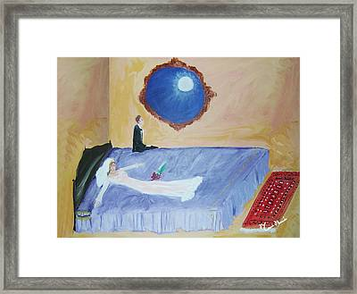 Nuit De Noces Framed Print by Mounir Mounir