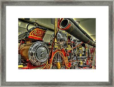 Number 2 Steamer Framed Print by Tommy Anderson