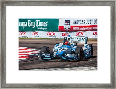 Number 27 Framed Print by Jeff Donald