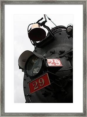 Number 29 Framed Print by Joe Kozlowski