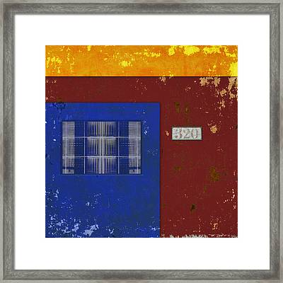 Number 320 Framed Print
