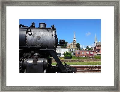 Number 734 At Cumberland Station Framed Print by James Brunker
