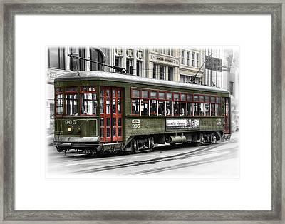 Number 965 Trolley Framed Print by Tammy Wetzel