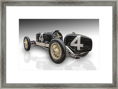 Number Four Framed Print