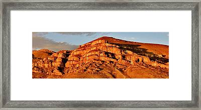 Framed Print featuring the photograph Number Hill by Benjamin Yeager