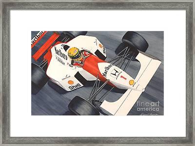 Number One Framed Print by Robert Hooper