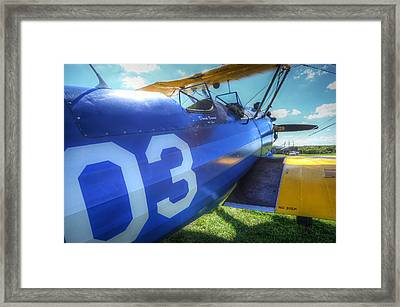 Framed Print featuring the photograph Number Three by Michael Donahue