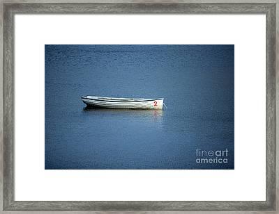 Number Two Boat Framed Print