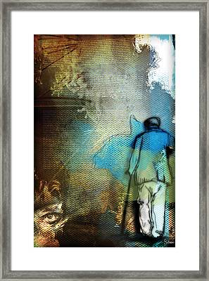 Numbers 1 Framed Print by Switchvues Design