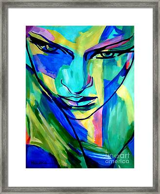 Numinous Emotions Framed Print