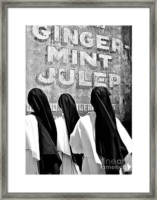 Nun Of That Framed Print