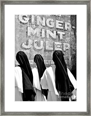 Nun Of That Framed Print by Kathleen K Parker