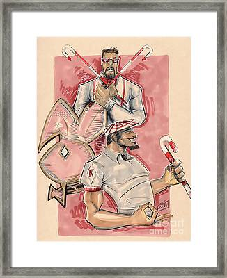 Nupes Framed Print by Tu-Kwon Thomas