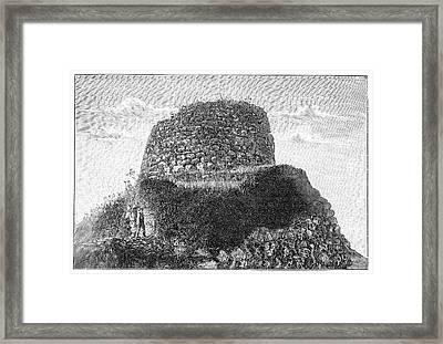 Nuraghe Losa Framed Print