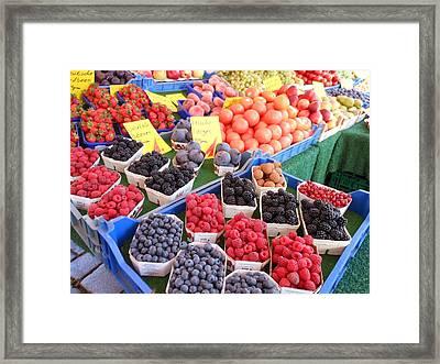 Nuremberg Market Framed Print by Kay Gilley