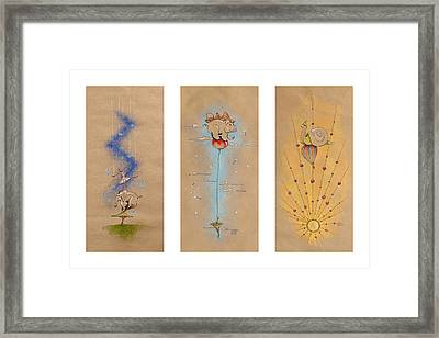Nursery Collection 3 Framed Print by David Breeding