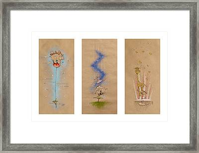 Nursery Collection 6 Framed Print by David Breeding