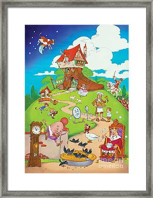 Nursery Rhymes Framed Print