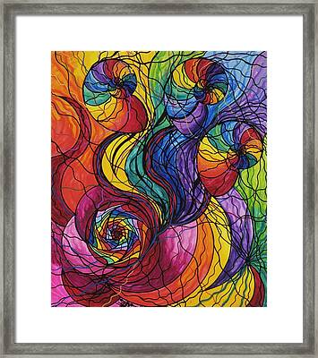 Nurture Framed Print by Teal Eye  Print Store