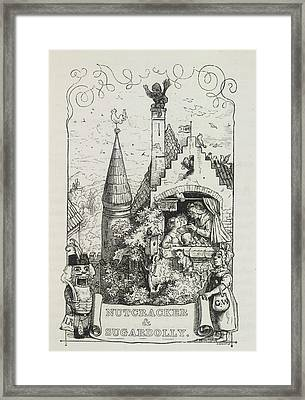 Nut-cracker And Sugar-dolly Framed Print by British Library