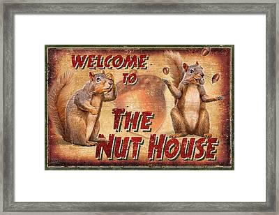 Nut House 2 Framed Print by JQ Licensing