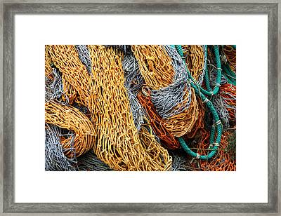 Nutin' But Net Framed Print