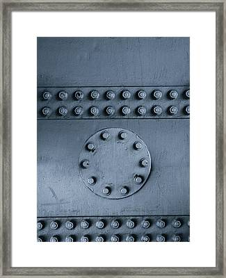 Nuts And Bolts Framed Print by Les Cunliffe