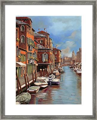 nuvole a Murano Framed Print by Guido Borelli