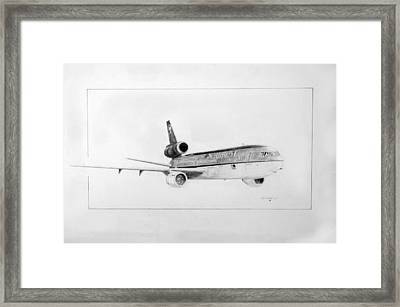 Nwa Dc-10-40 Framed Print by J Griff Griffin