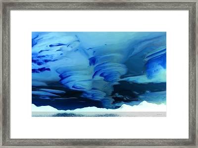 N.w.t. Storms Framed Print by Wayne Bonney