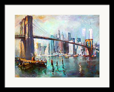 World Trade Center Framed Prints